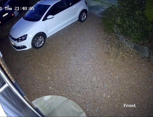 2 x Colourvu Hikvision CCTV Orpington