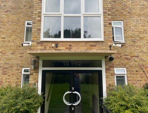 CCTV Block of Flats in Chislehurst