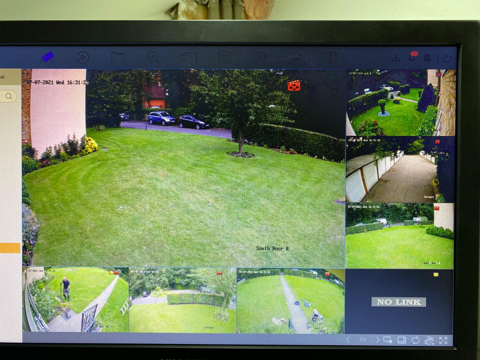 CCTV Chislehurst Flats
